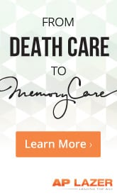 AP Lazer: From deathcare to MemoryCare.