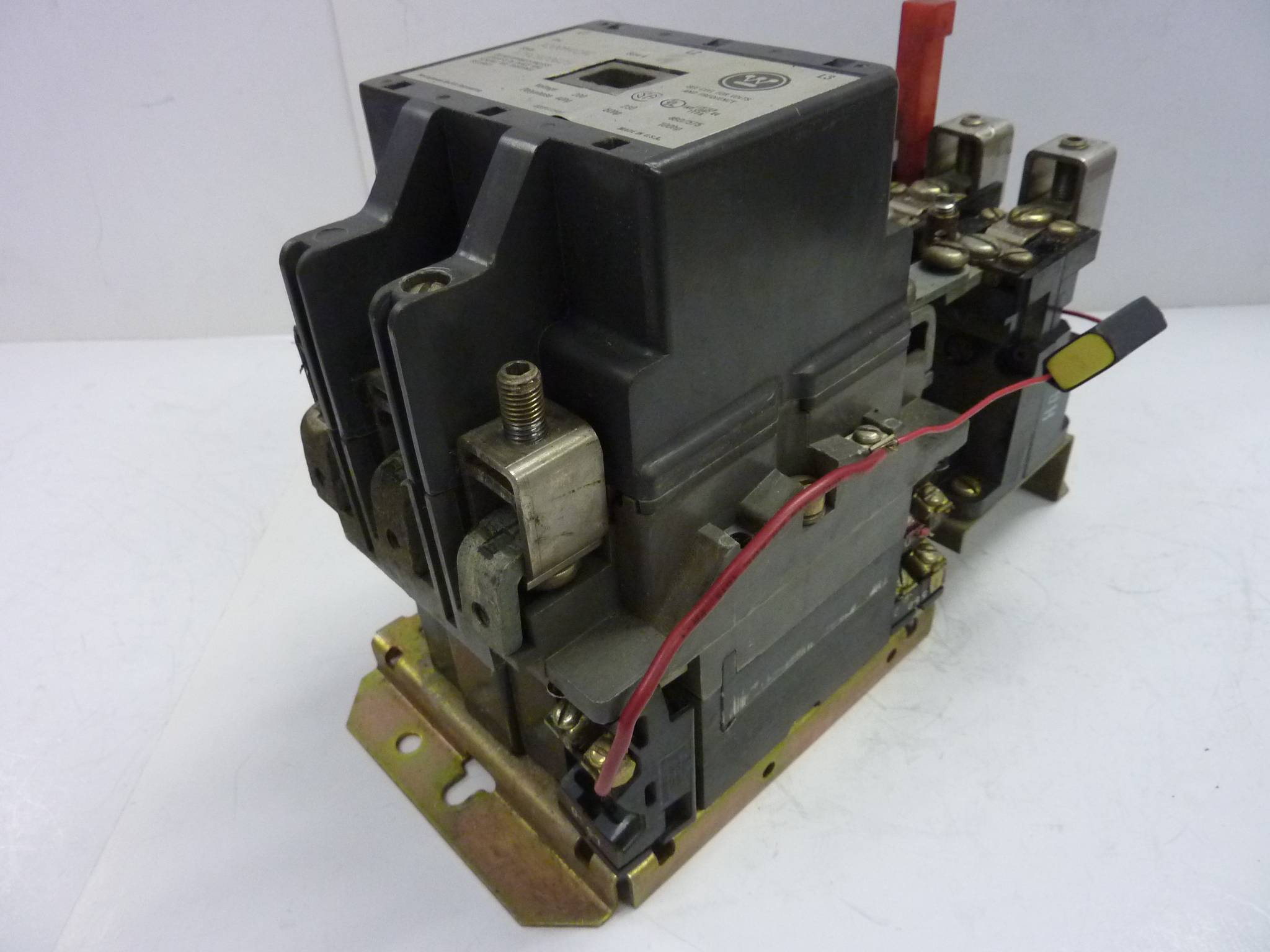 Westinghouse motor starter size 4 a200m4cac used 15387 ebay for Westinghouse motor starter parts