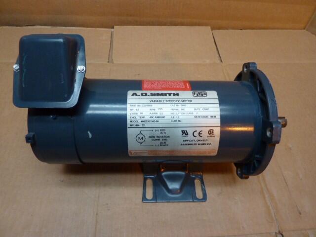 Ao Smith 1 2 Hp Variable Speed Dc Motor 46605351543 0a