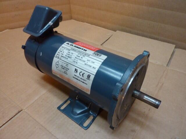 Ao Smith 1 2 Hp Variable Speed Dc Motor 46605351543 0a Used 22102 Ebay