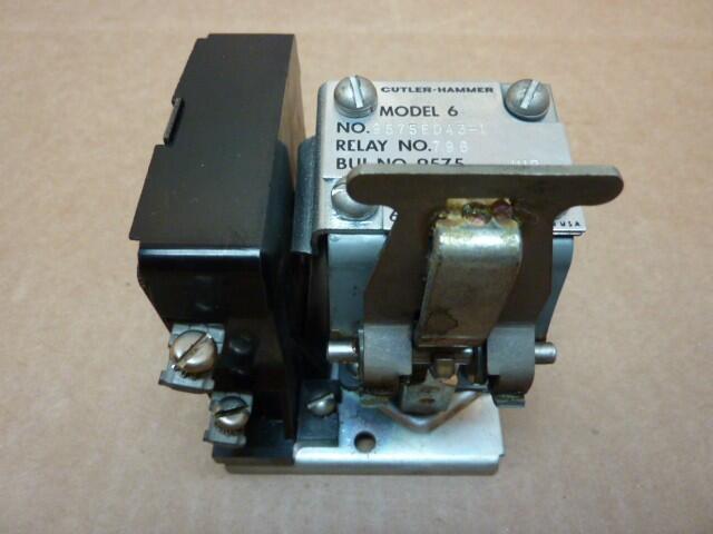 Cutler hammer 9575ed43 1 ideal machinery inc for Cutler hammer motor starter