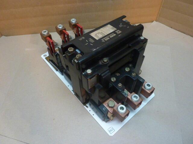 Square d motor starter size 5 8536 sg01 used 34941 ebay for Square d motor starter
