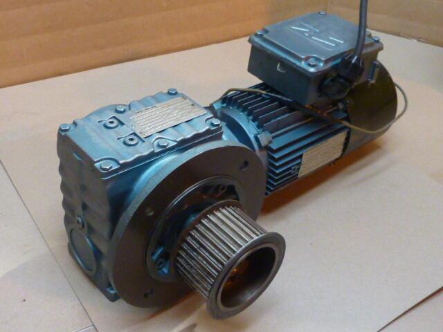 Sew eurodrive gear motor with gearbox dft80n4bmg1hr used for Sew eurodrive gear motor