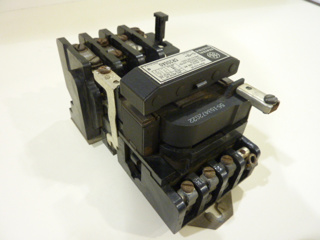 General Electric Ge Motor Starter Size 00 Cr206a0 Used