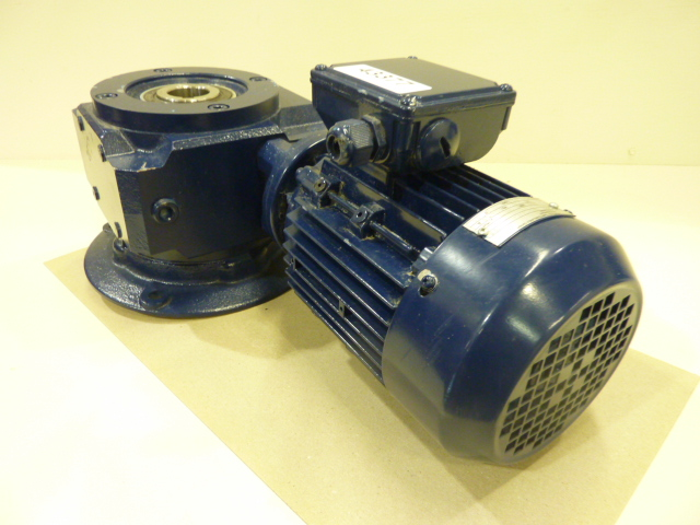 renold electronics 1 hp gear reduction motor hu 80 b4 used