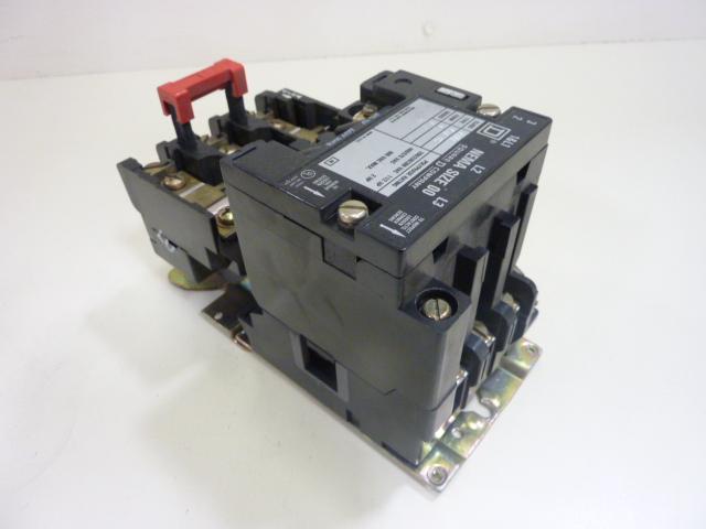 Square d motor starter size 00 8536 sa012 used 44294 for Square d motor starter