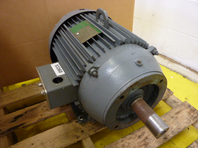 Lincoln electric 15 hp ac motor tefc used 53360 ebay for 5 hp tefc motor