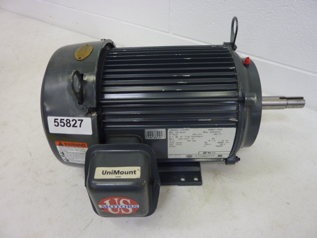 Us electrical motors uj7s1bfm ideal machinery inc for Drive away motors inventory