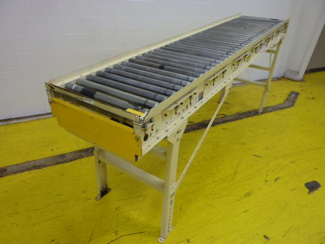 Hytrol Roller Conveyor Conveyor154 Used 56154 Ebay