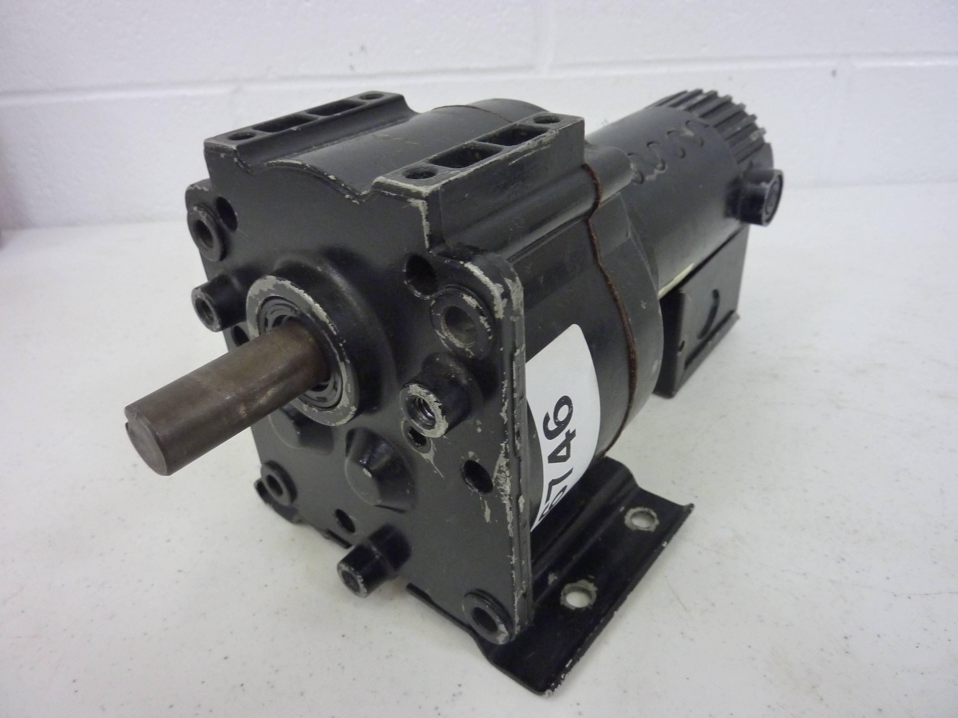Dayton gear motor 4z132b used 56746 ebay for Perm 132 motor for sale