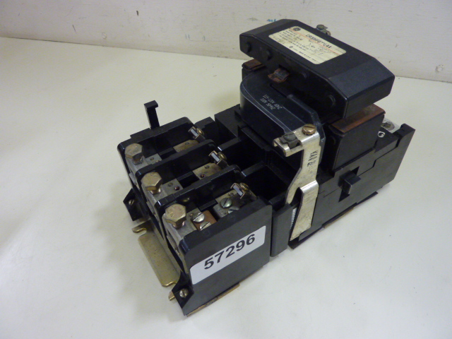 General Electric Size 4 Motor Starter Cr306f0 Laa Used