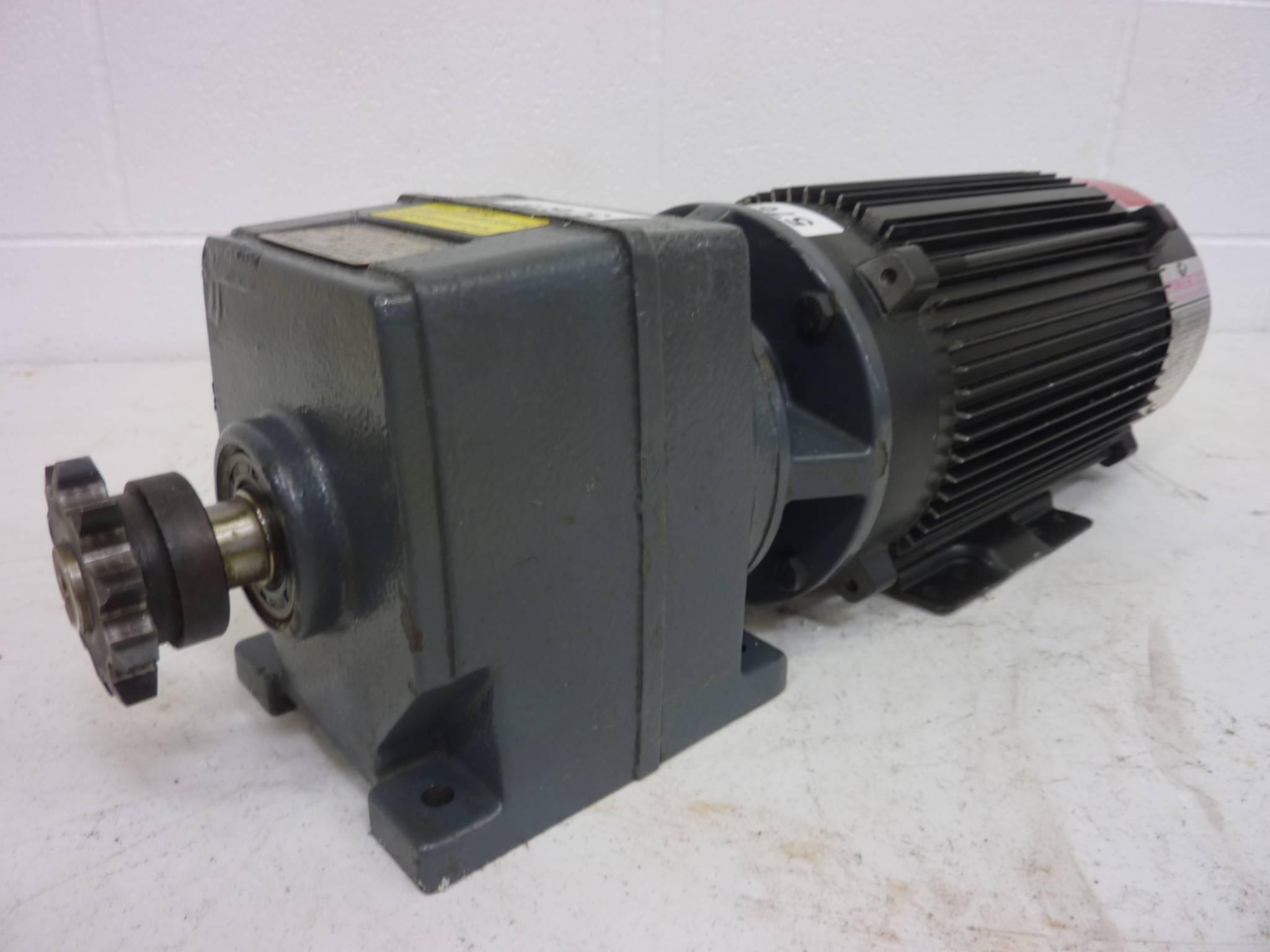 powertec 1 5 hp servo motor w gearbox l14cma1100100000