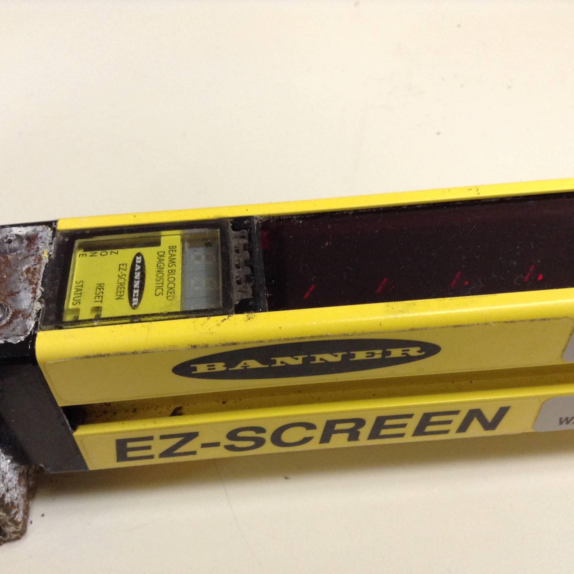Banner Engineering Light Curtain EZ- Screen Receiver ...