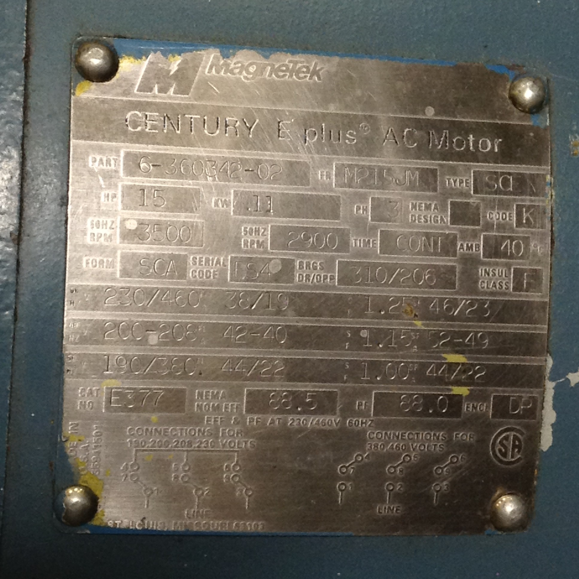 Electric Motor Type Tdr