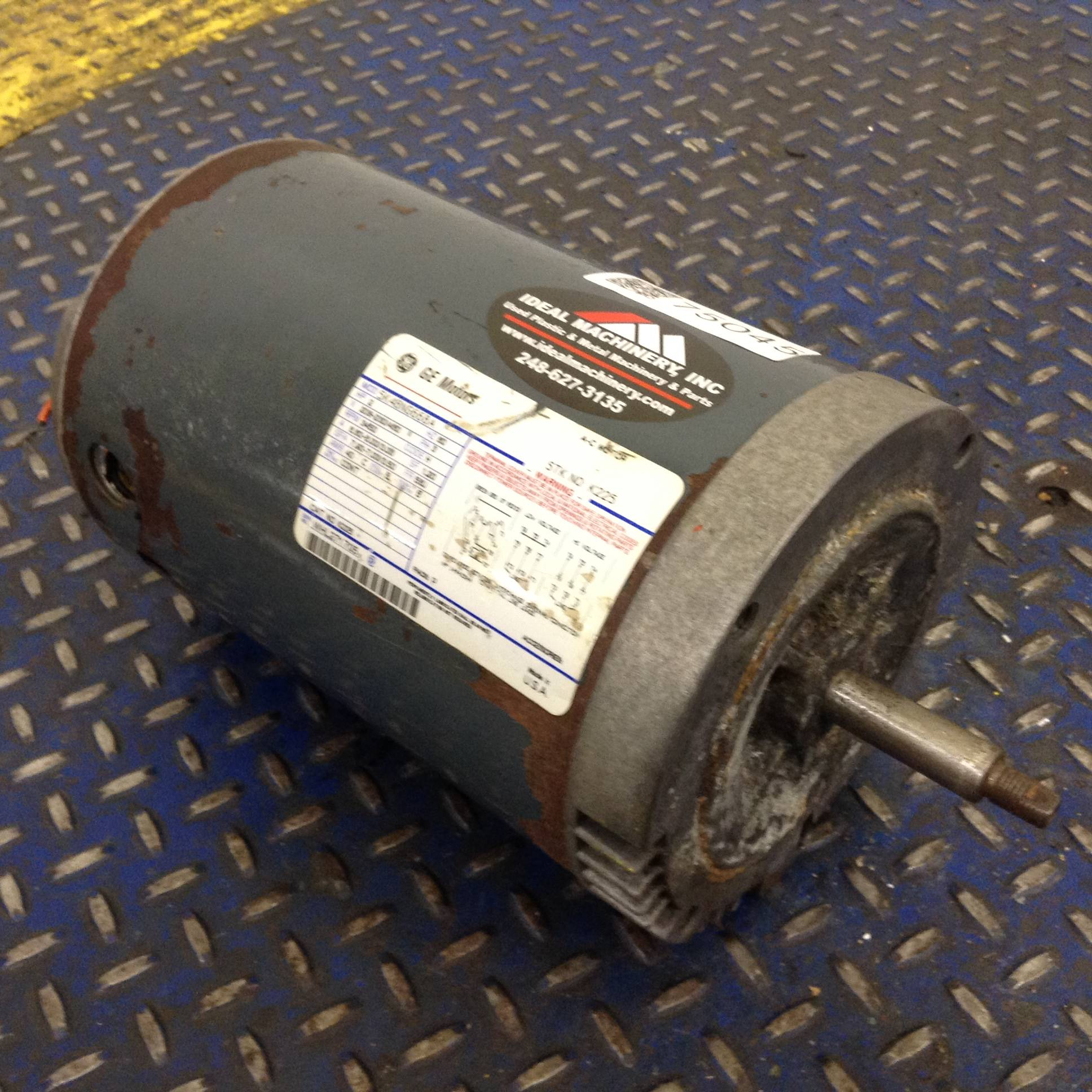 General Electric Ge 5k48ng668a Ideal Machinery Inc