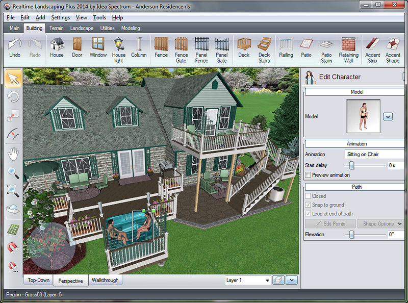 Click to view Realtime Landscaping Plus 2014 screenshots