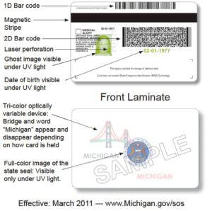 michigan sos drivers license address change