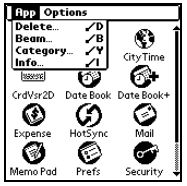 Select Delete from main menu