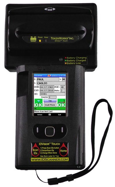 ID Scanner Touch