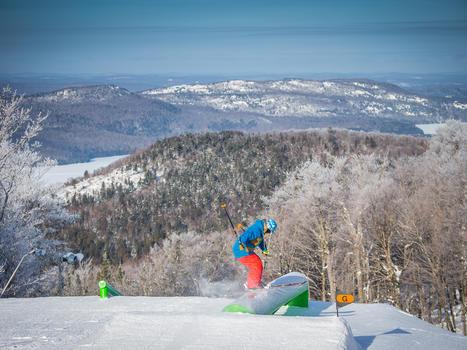 Skiing tremblant photos