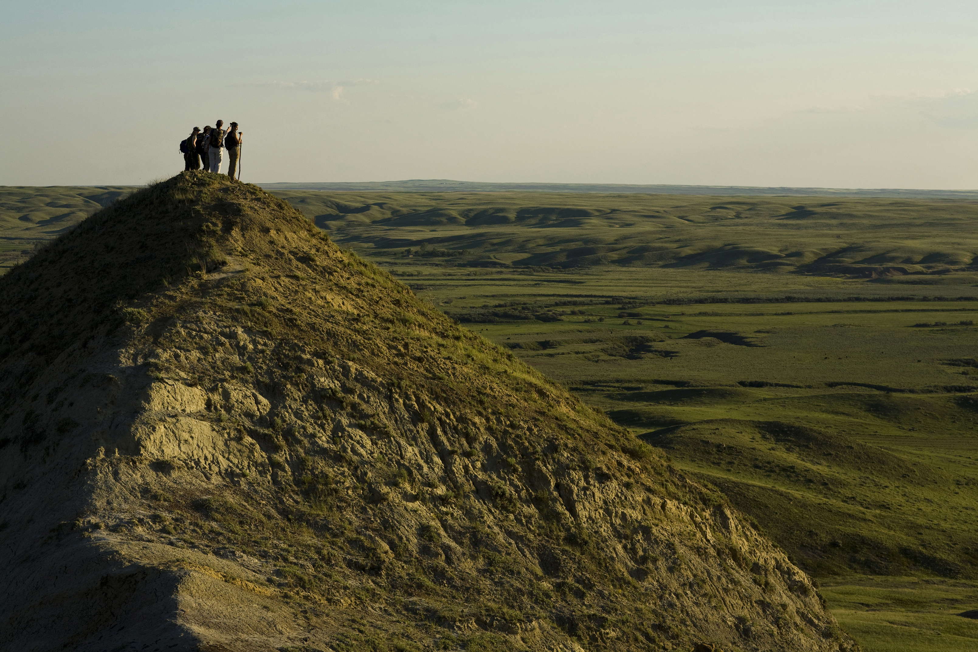 """Grasslands National Park"" by Tourism Saskatchewan/Greg Huszar Photography"