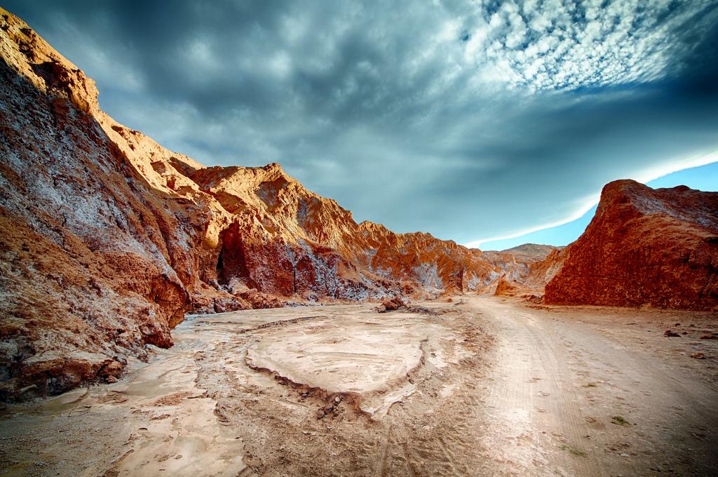 """""""Atacama Desert, Desert Valley, Chile"""" by Tom Goskar via Flickr Creative Commons"""