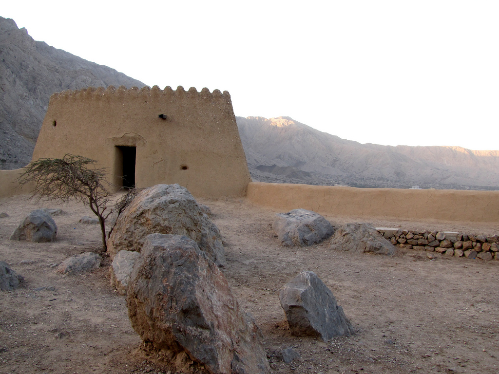"""""""Dhaya Fort"""" by Groundhopping Merseburg via Flickr Creative Commons"""
