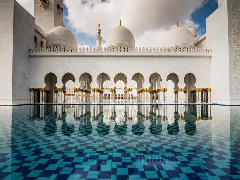 Sheikh zayed  andrew xu