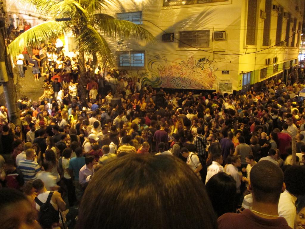 """""""Samba at Pedro do Sal, Rio de Janeiro"""" by David Feltkamp via Flickr Creative Commons"""