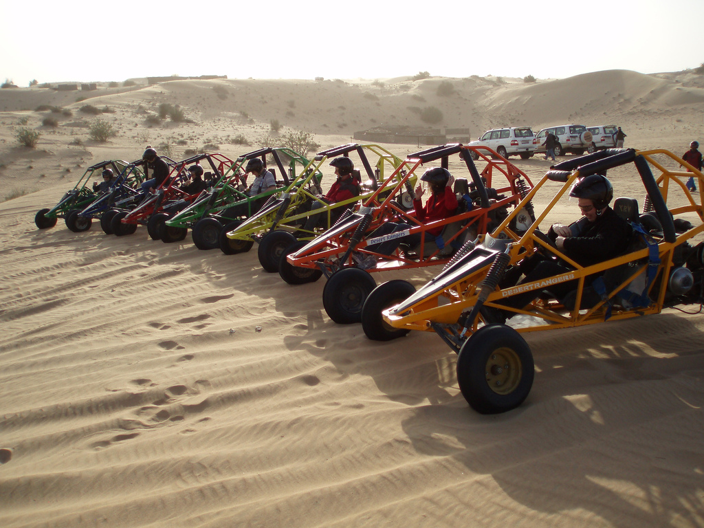"""Buggies in the Dunes"" by Voso via Flickr Creative Commons"