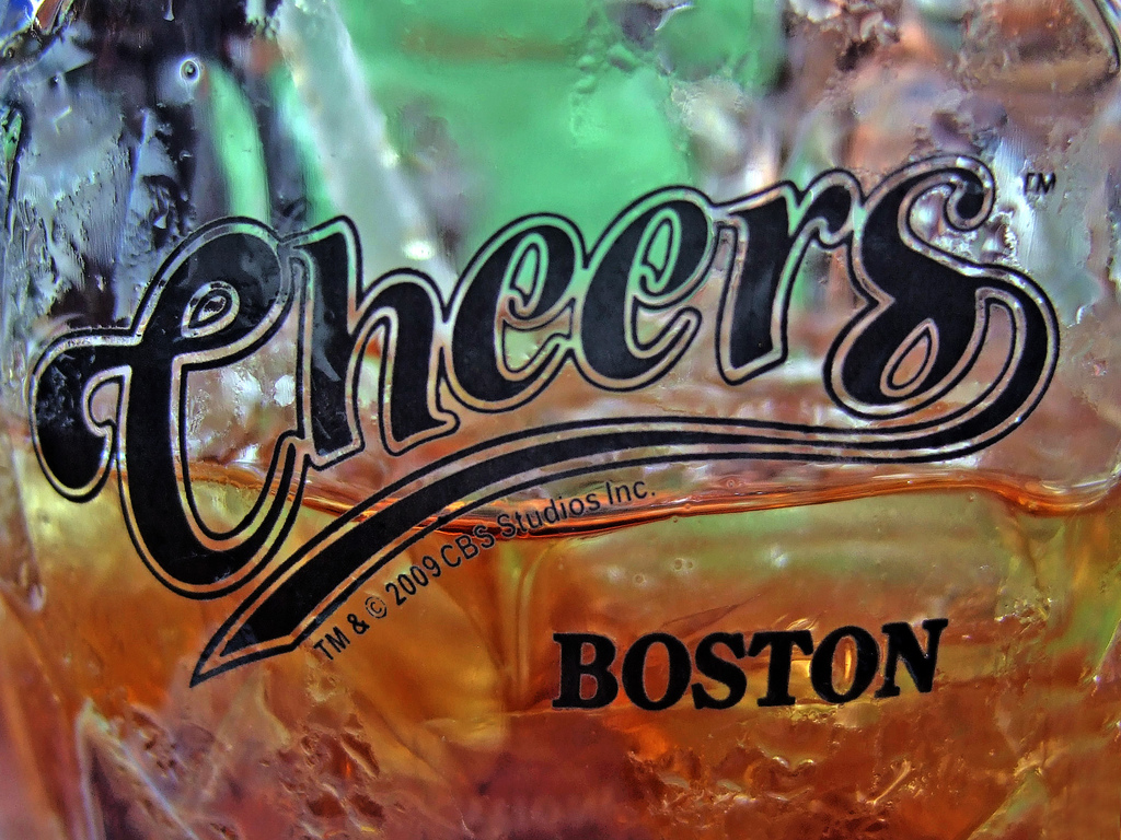 """Cheers BOSTON"" by Leo Reynolds via Flickr Creative Commons"