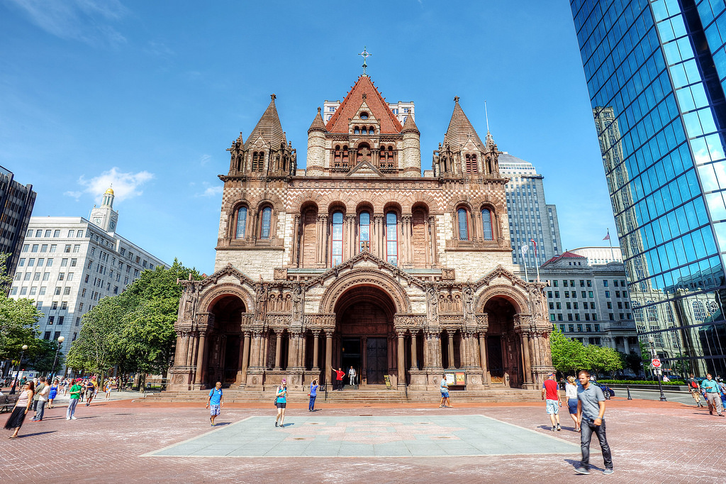 """Trinity Church, Copley Square, Boston"" by Travelationship via Flickr Creative Commons"