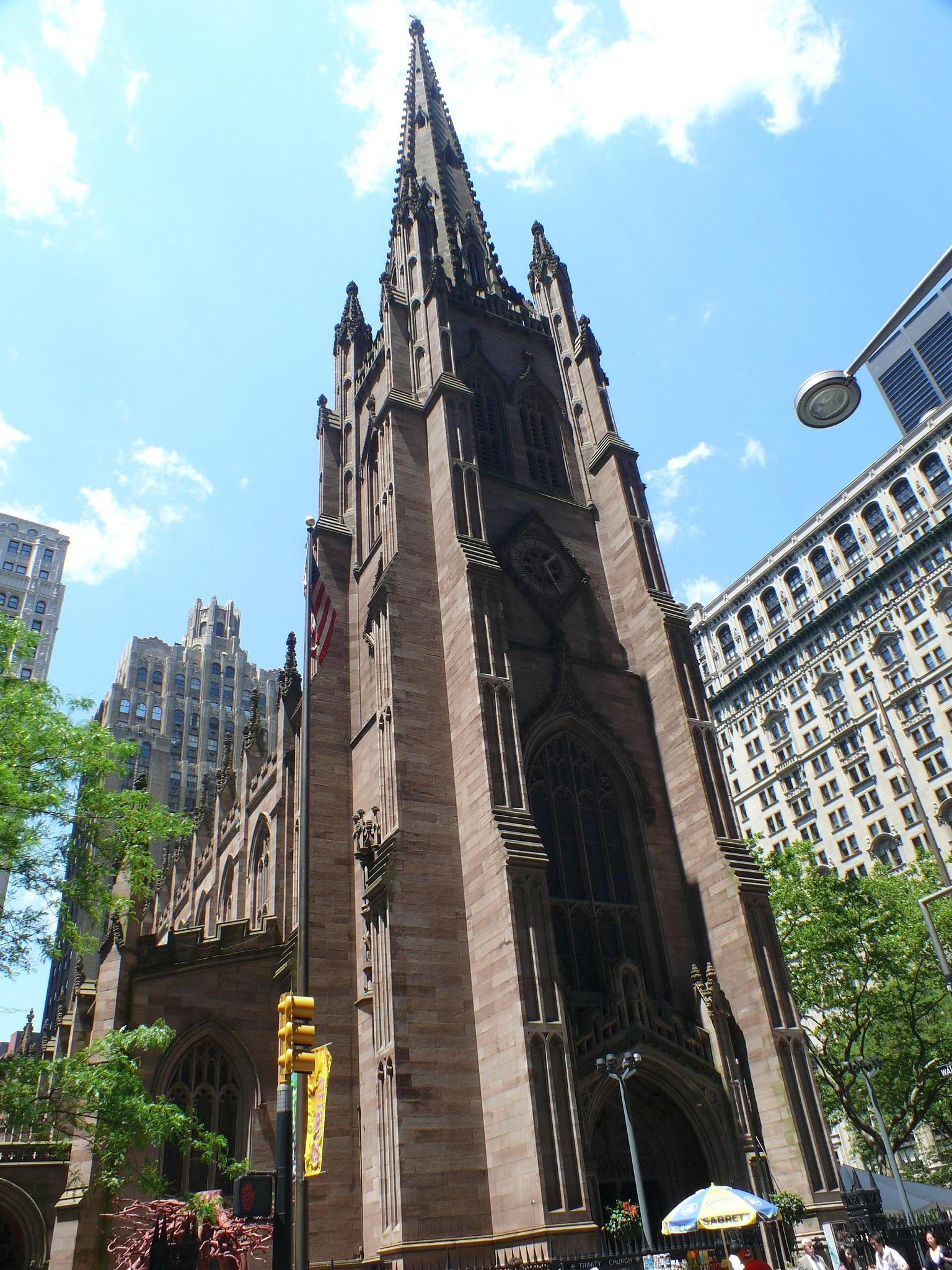 """Trinity Church"" by Pauleon Tan via Flickr Creative Commons"