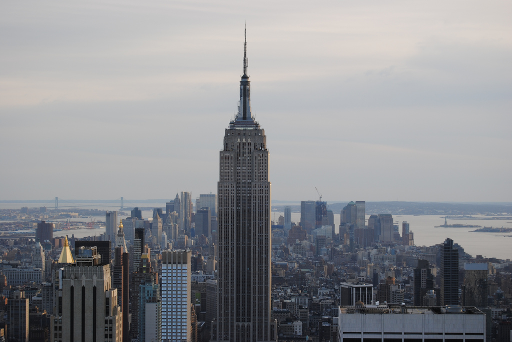 """Empire State Building"" by David Notivol via Flickr Creative Commons"