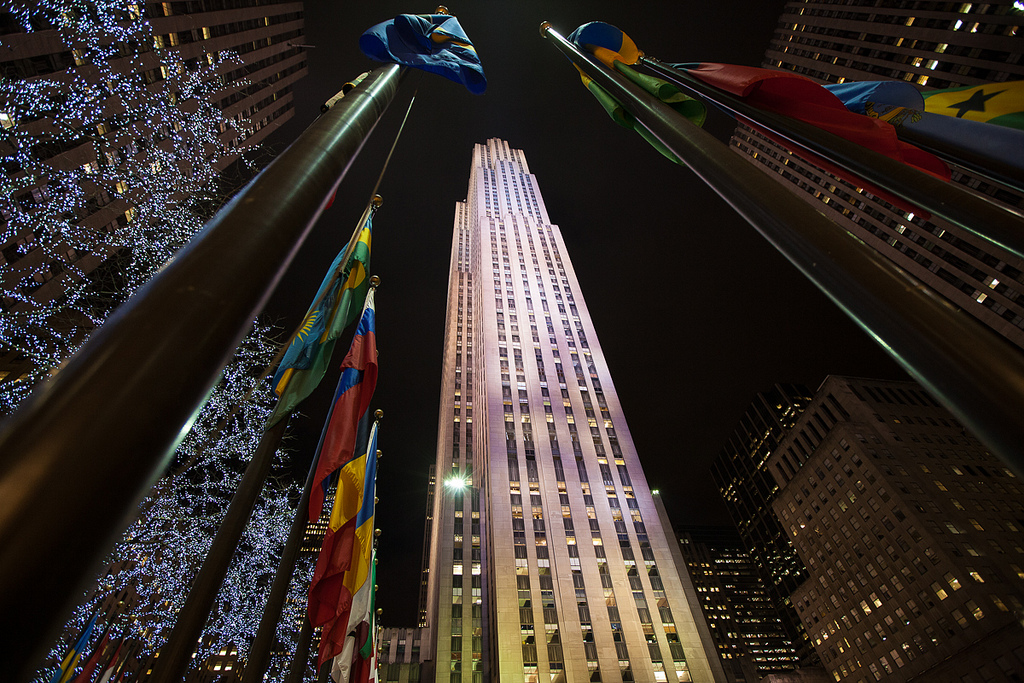 """Rockefeller Center in February"" by Hector Parayuevos via Flickr Creative Commons"