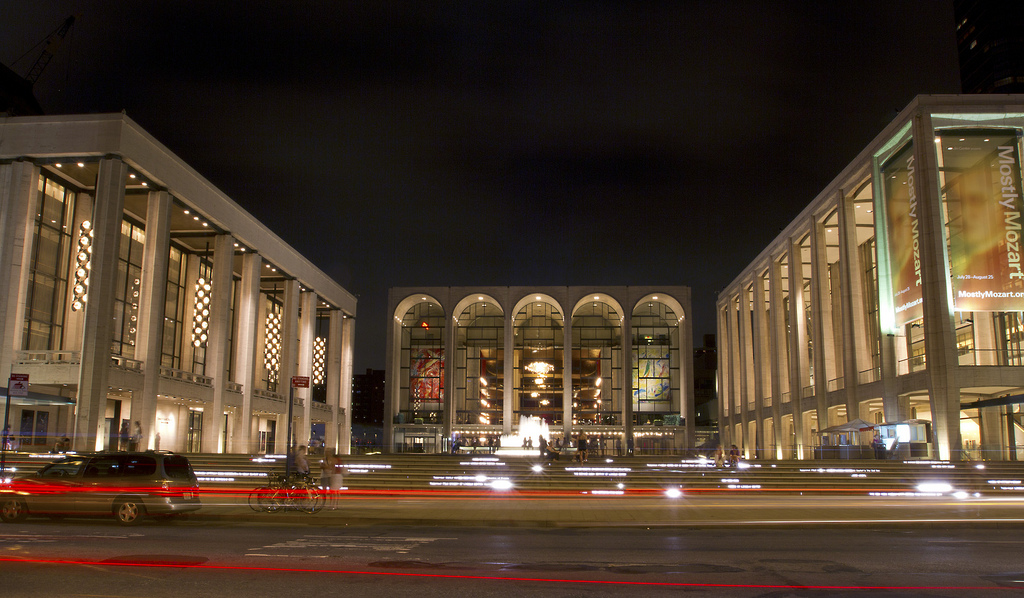 """Lincoln Center"" by Phil Davis via Flickr Creative Commons"