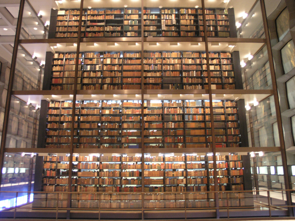 """Rare Books"" by Simon King via Flickr Creative Commons"