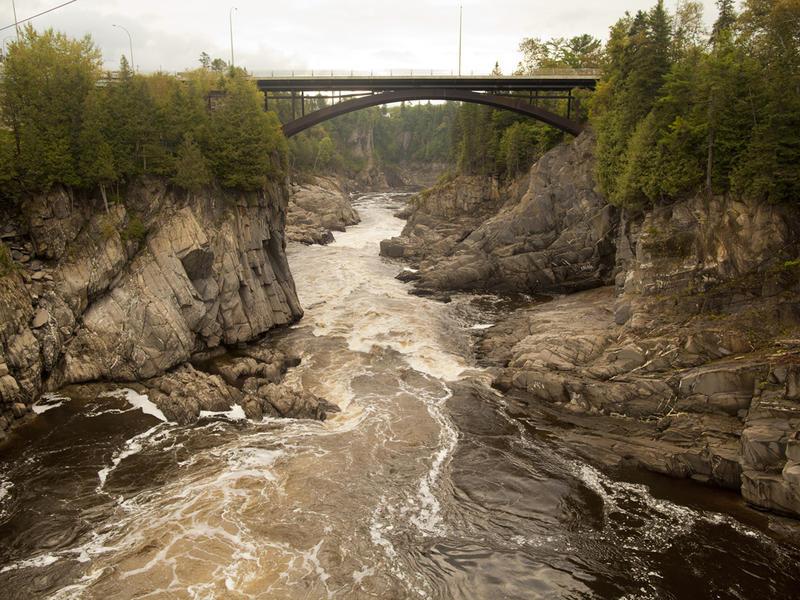 Grand falls gorge zip zag