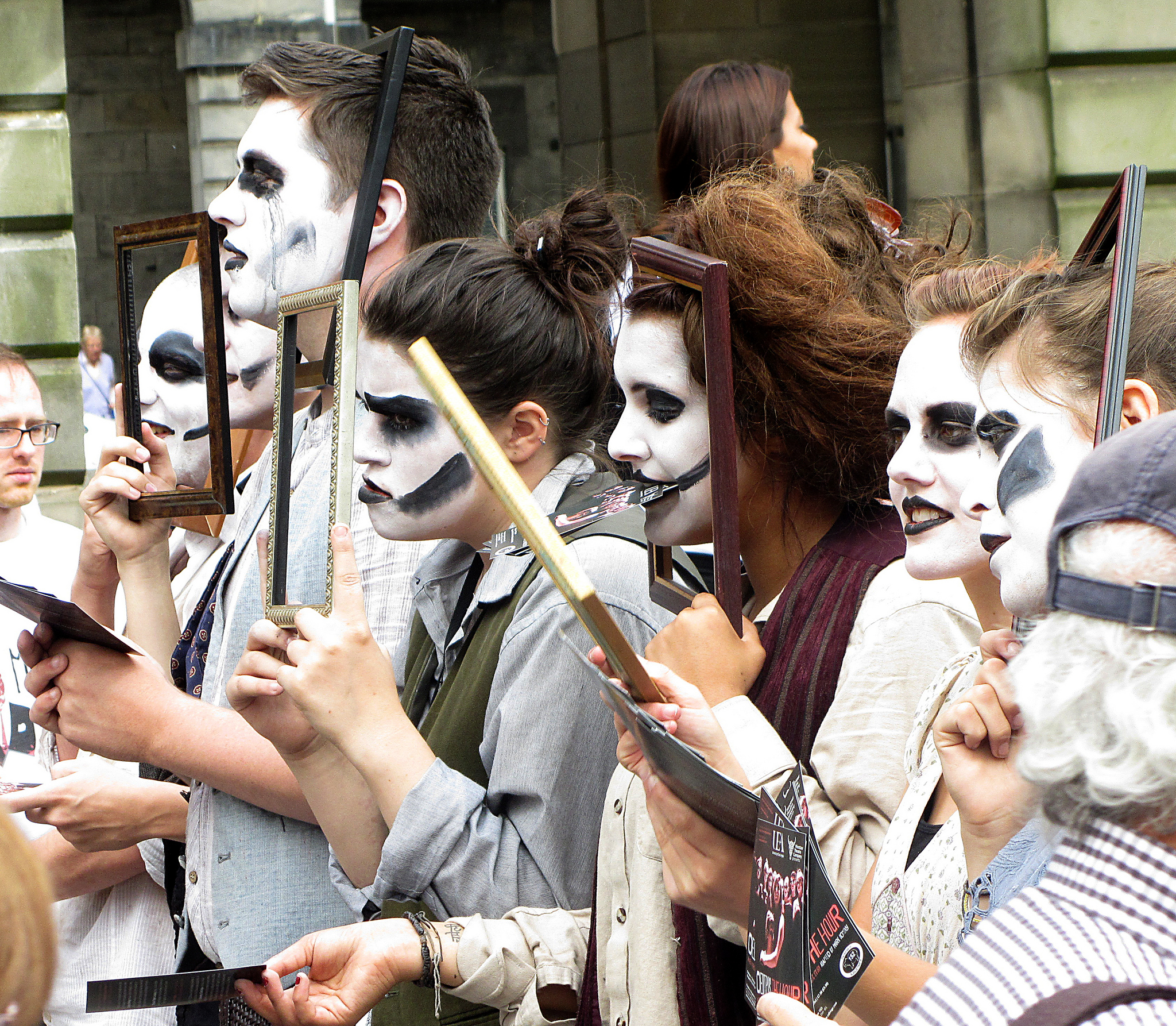 """Edinburgh Fringe Performers"" by Bob the Lomond via Flickr Creative Commons"