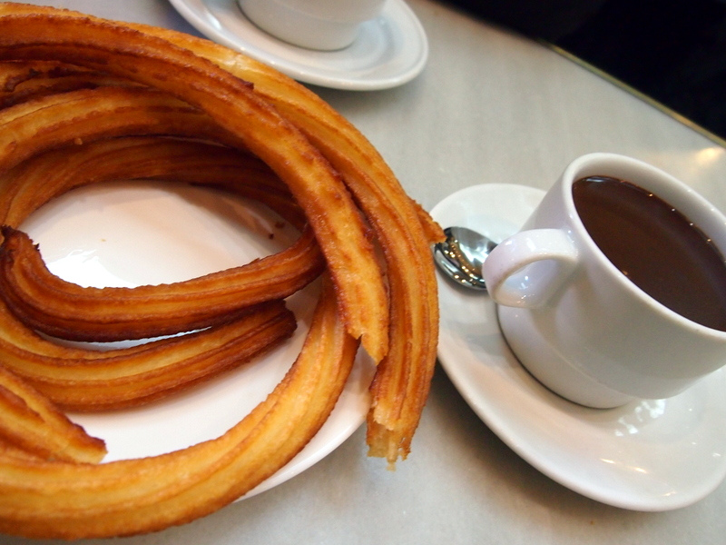"""Churros y Chocolate"" by Melosh via Flickr Creative Commons"