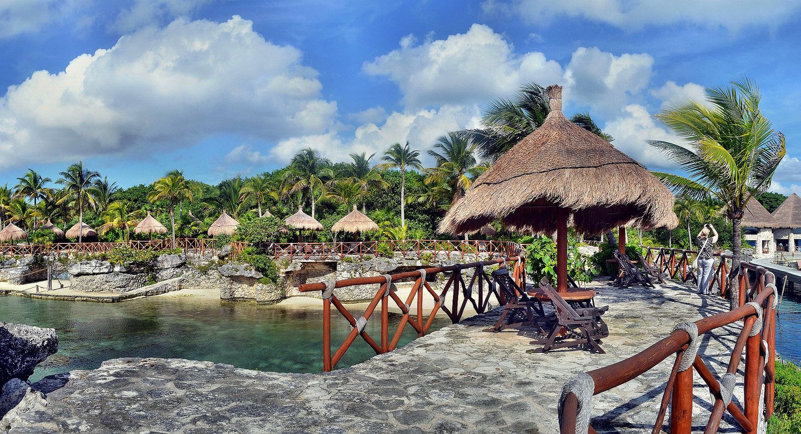 """Xcaret Panorama"" by Robert Pittman via Flickr Creative Commons"