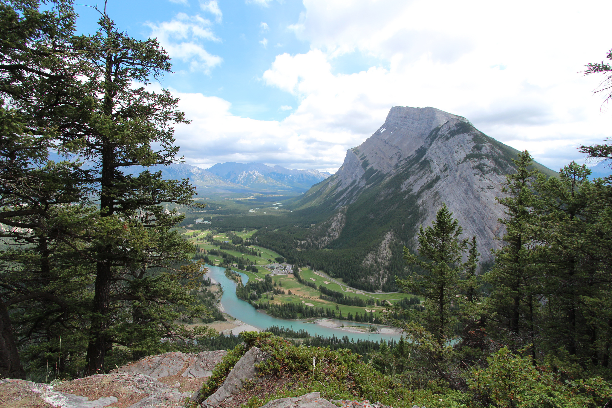 """""""My Visit to Tunnel Mountain Banff Alberta Canada"""" by Davebloggs via Flickr Creative Commons"""