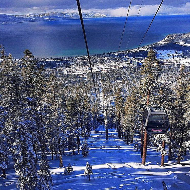 View from Heavenly Mountain. Photo by Spencer Spellman
