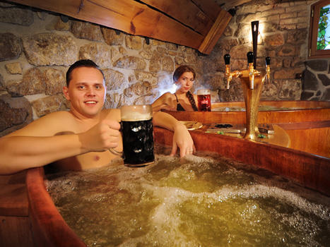 The Best Beer Tasting in the World Also Includes a Beer Bath