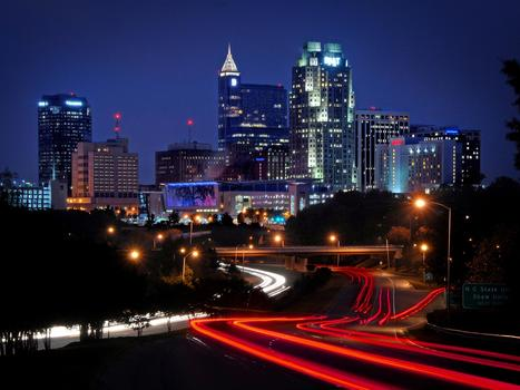 Raleigh skyline bg