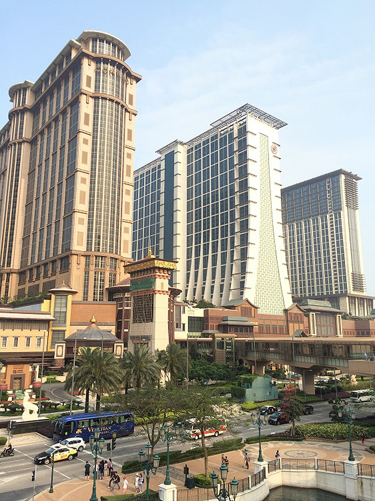 Macau's casinos by Megan Hill
