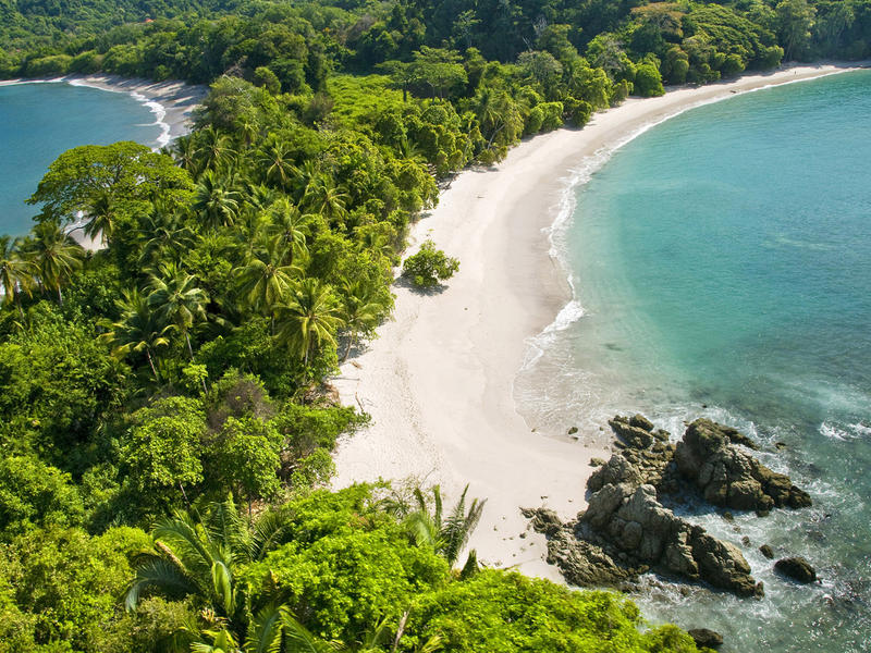 Costa rica aerial view of manuel antonio1