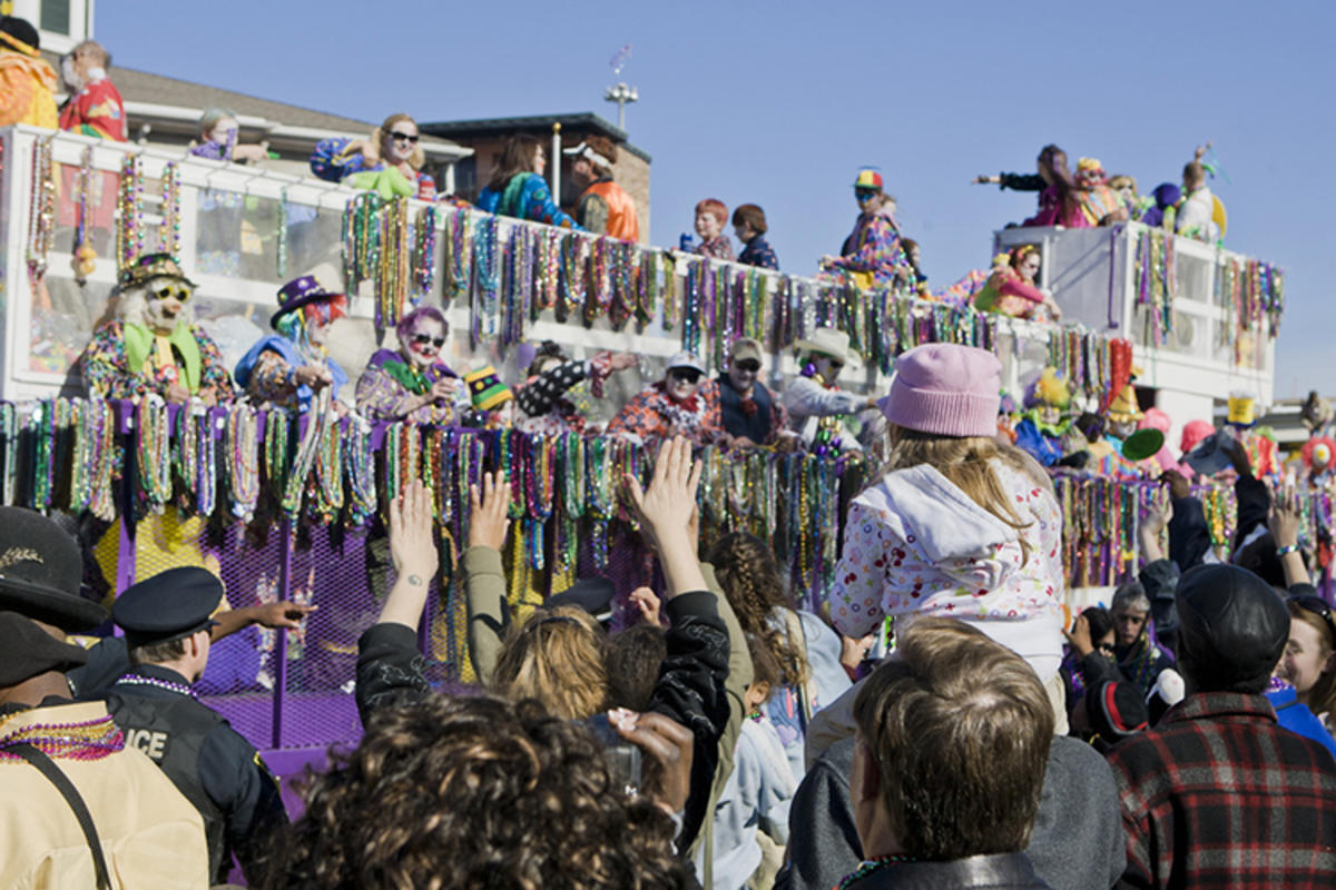 Mobile's Mardi Gras Celebrations, Photo Credit: Pieter Morlion