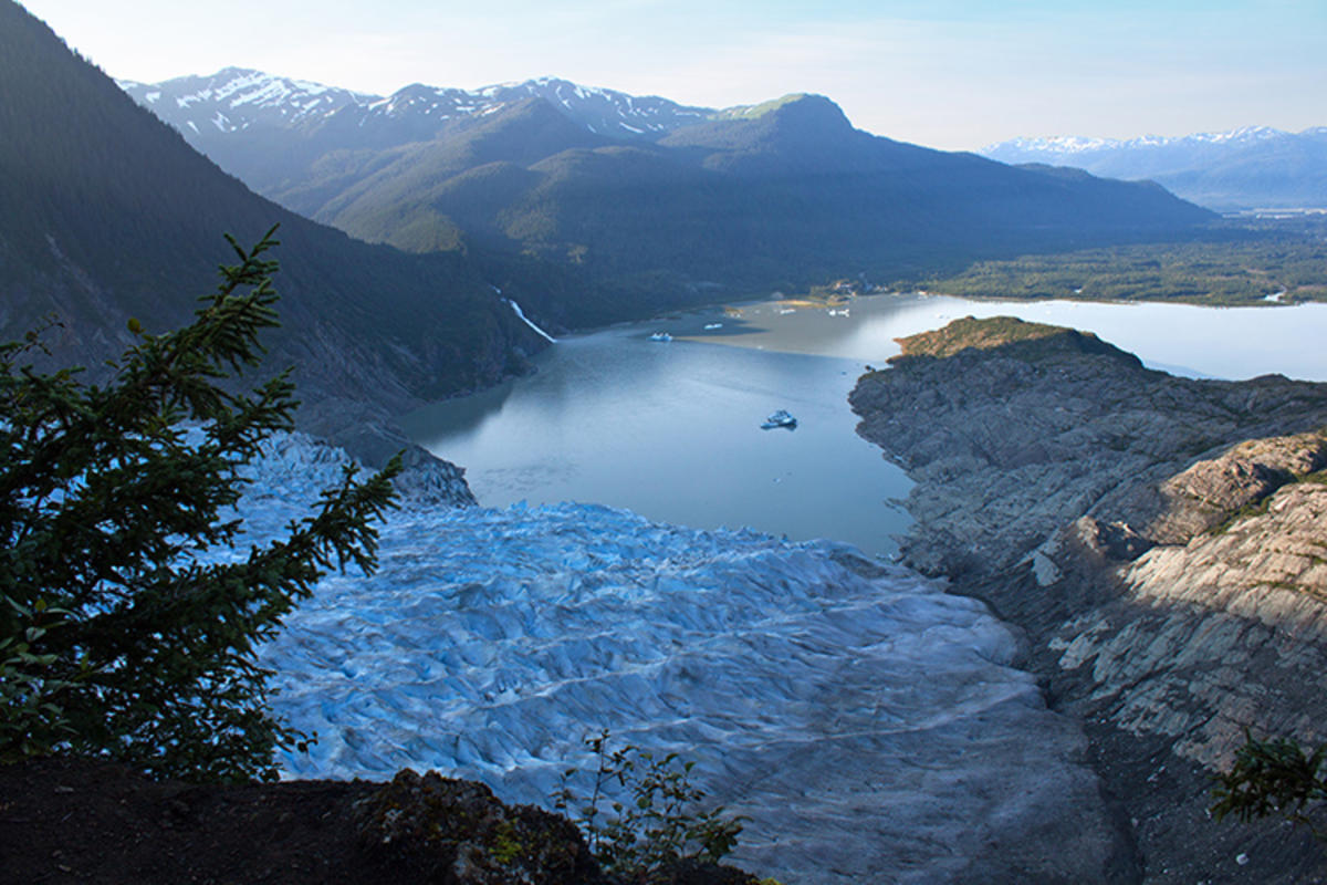 Mendenhall Glacier, Photo Credit: Richard Deakins