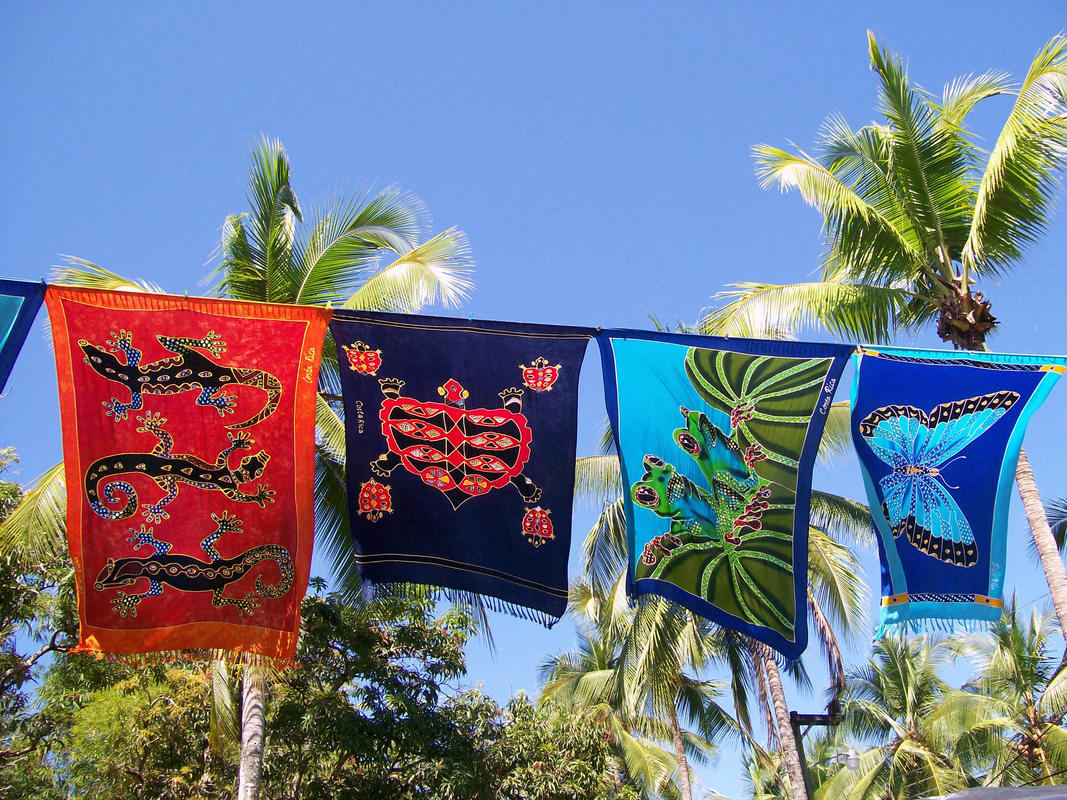 Sarongs might just be the most versatile piece of travel gear. Photo Credit: Zhu vic Flickr